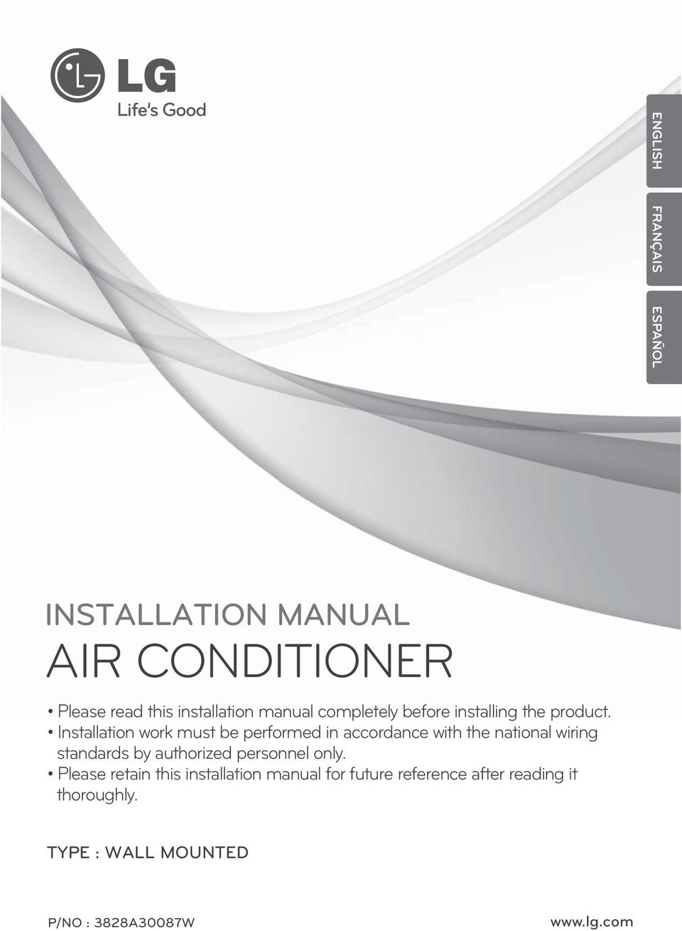 Air Conditioner Installation Manual Pdf Free Download
