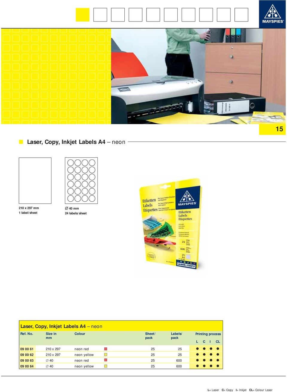 Laser Copy Inkjet Labels A4 Pdf Circuit Boards Graphic Overlays Name Plates Decals And 297 Neon Red 25 09 00 62 210 X Yellow