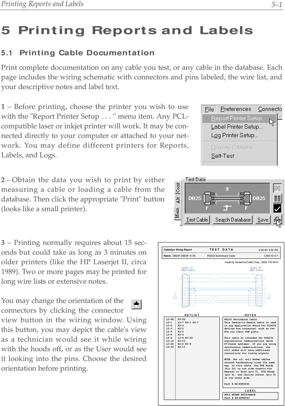 5 Printing Reports And Labels Pdf Wiring Schematic For Hp Computer 1 Before Choose The Printer You Wish To Use With Report