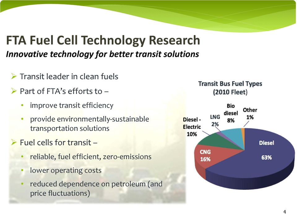 environmentally sustainable transportation solutions Fuel cells for transit reliable, fuel
