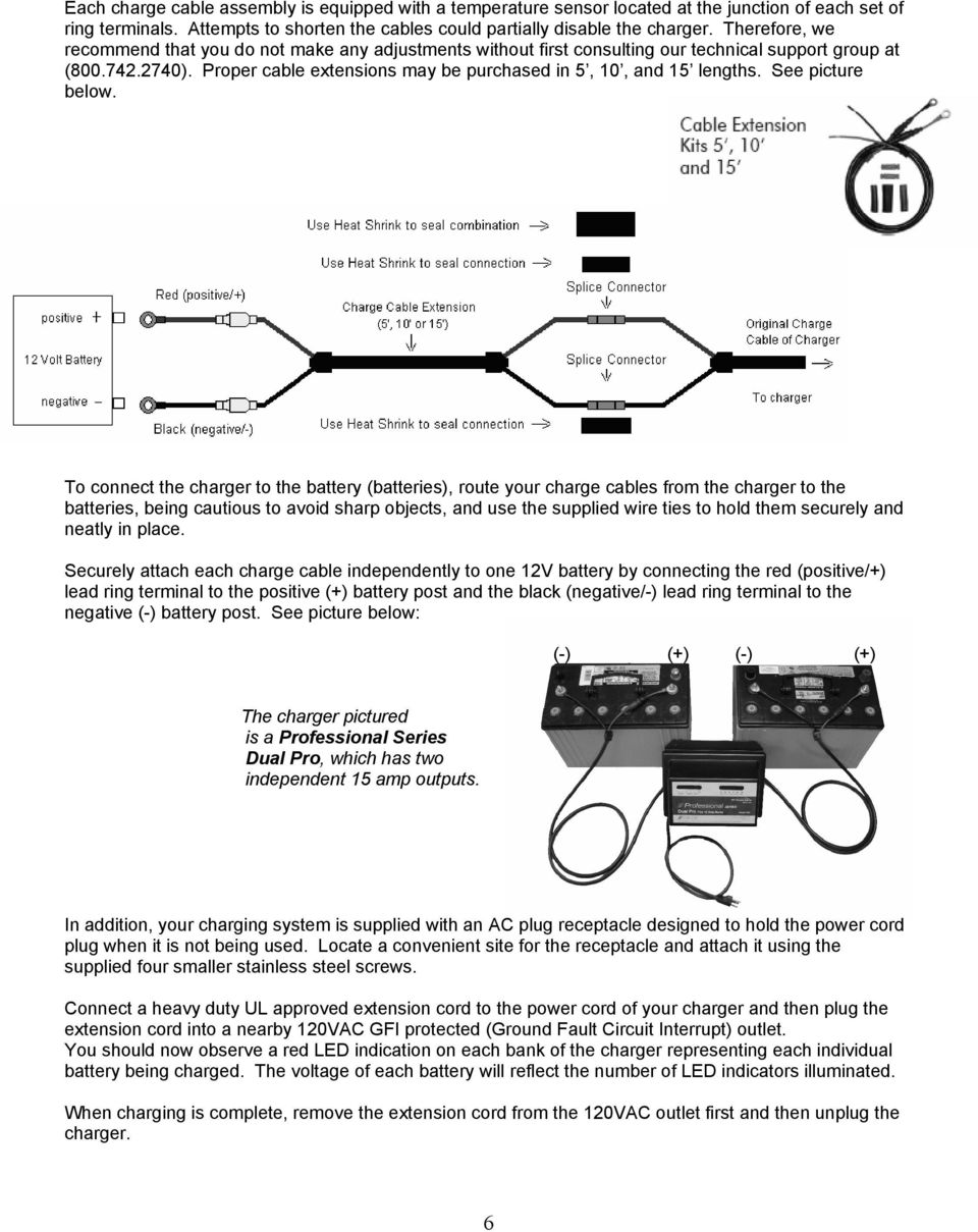 Installation And Operating Instructions For Chargers Shown Below Pdf 12 Volt Charging System Diagram See Picture