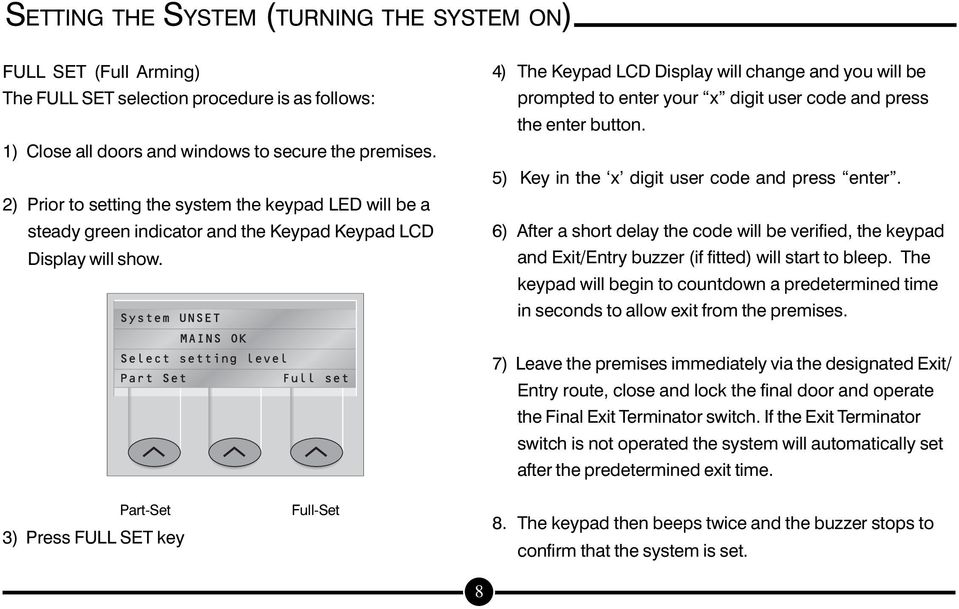 USER GUIDE SERIES 4250 AUDIO ALARM CONFIRMATION SYSTEM