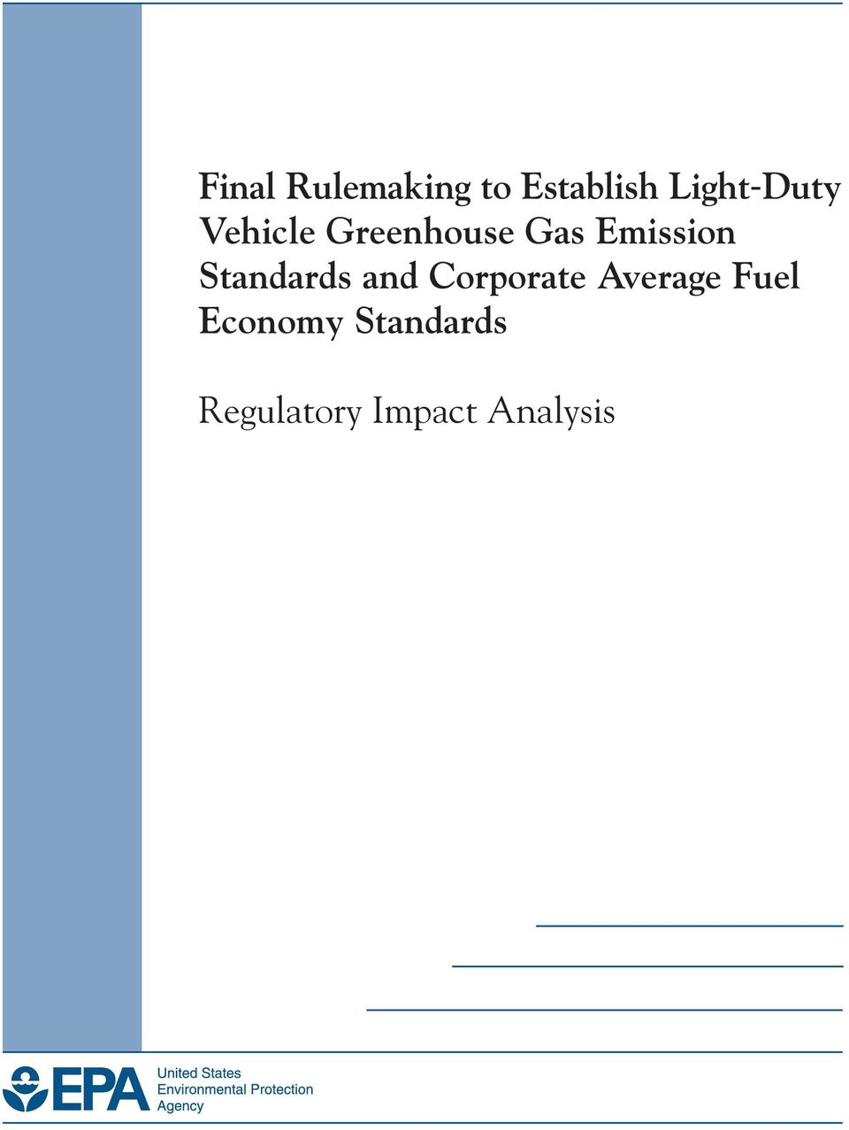 Emission Standards and Corporate
