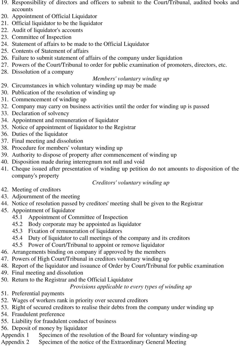 rights of shareholders under companies act 1956