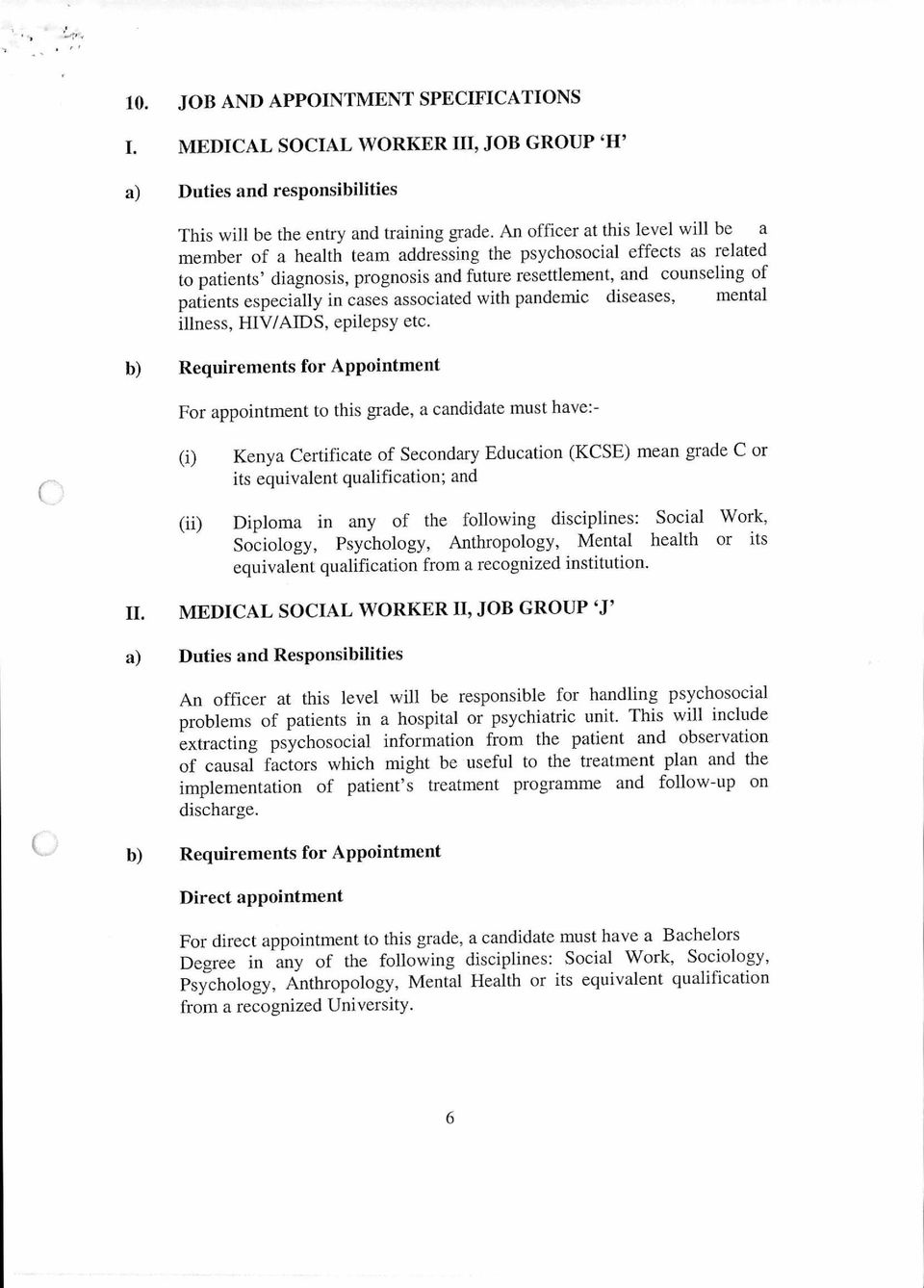 Scheme Of Service For Medical Social Workers Pdf