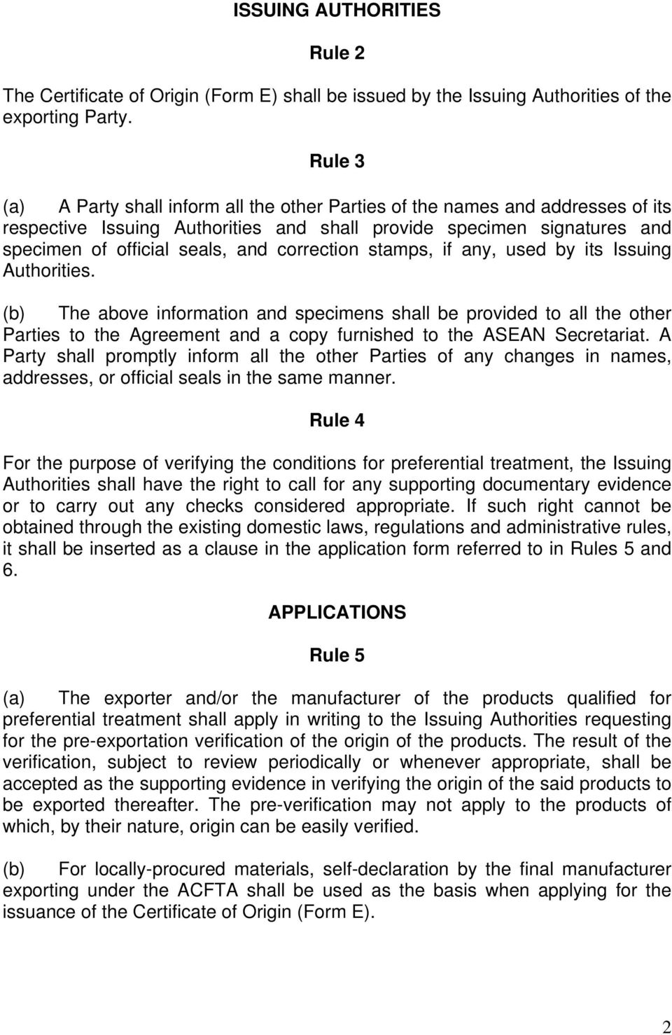 Appendix 1 Attachment A Revised Operational Certification Procedures