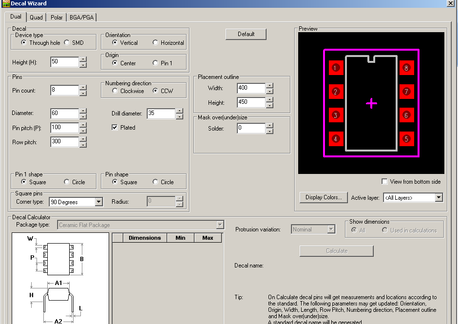 Creating a new Part Type using the PCB & CAE Decal Wizards V9 1 - PDF
