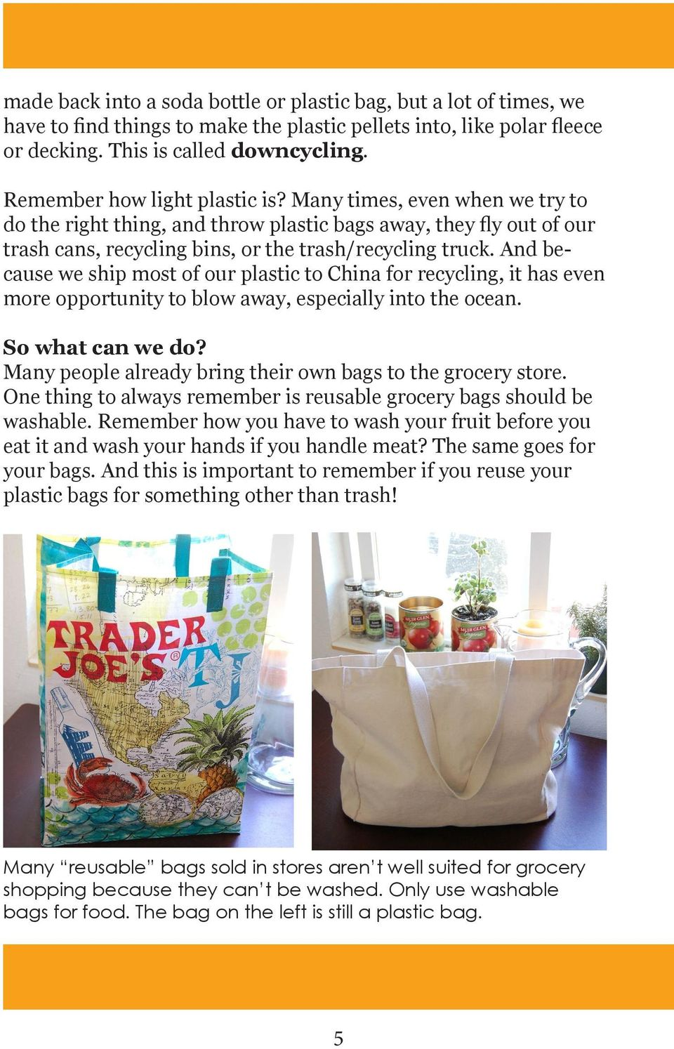 PLASTIC BAGS: What are they and do we need them? - PDF