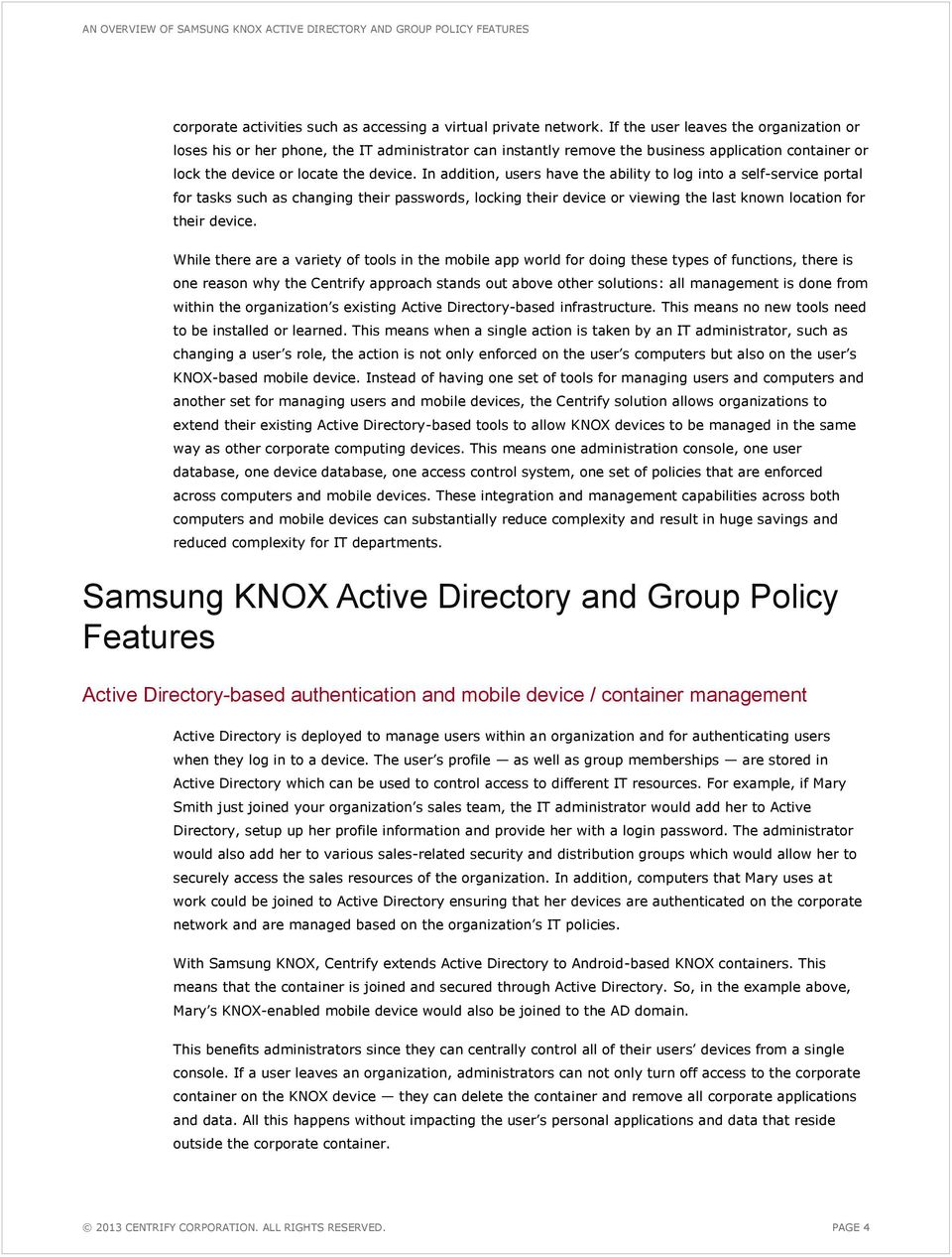 An Overview of Samsung KNOX Active Directory and Group Policy