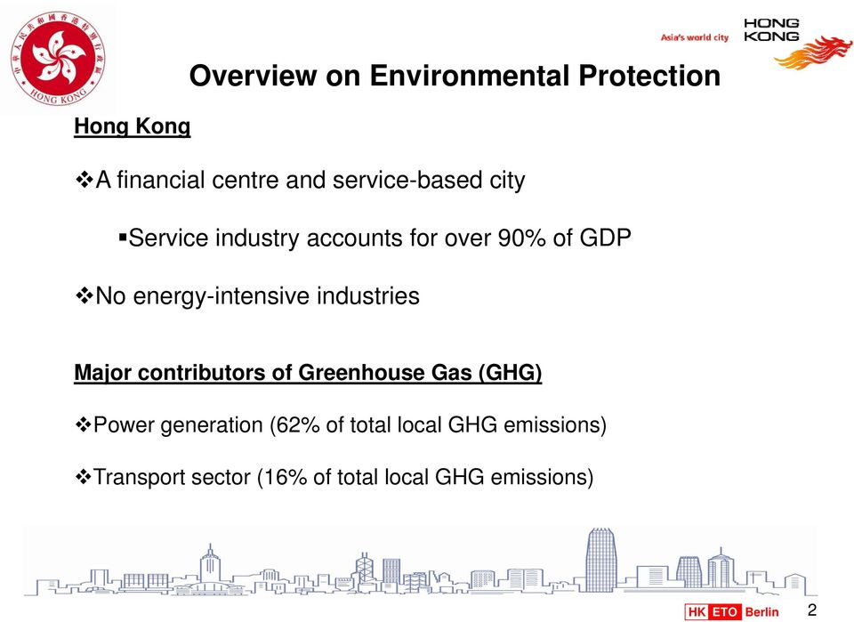 energy-intensive industries Major contributors of Greenhouse Gas (GHG) Power