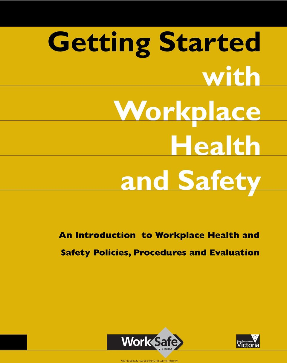 Introduction to Workplace Health
