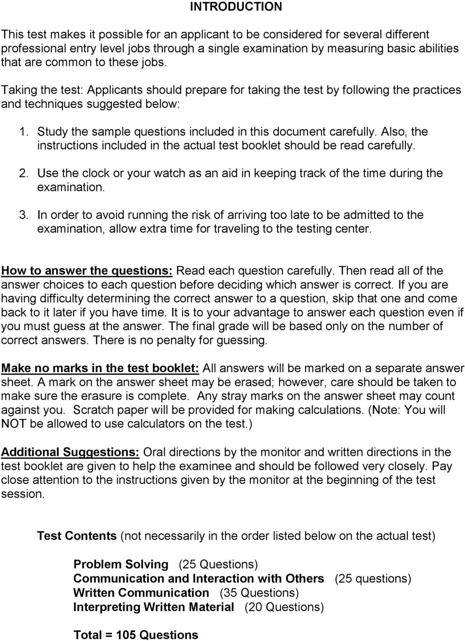 sample questions for series 8100 professional level exam ple pdf rh docplayer net Blank Study Guide Template Study Guide Format