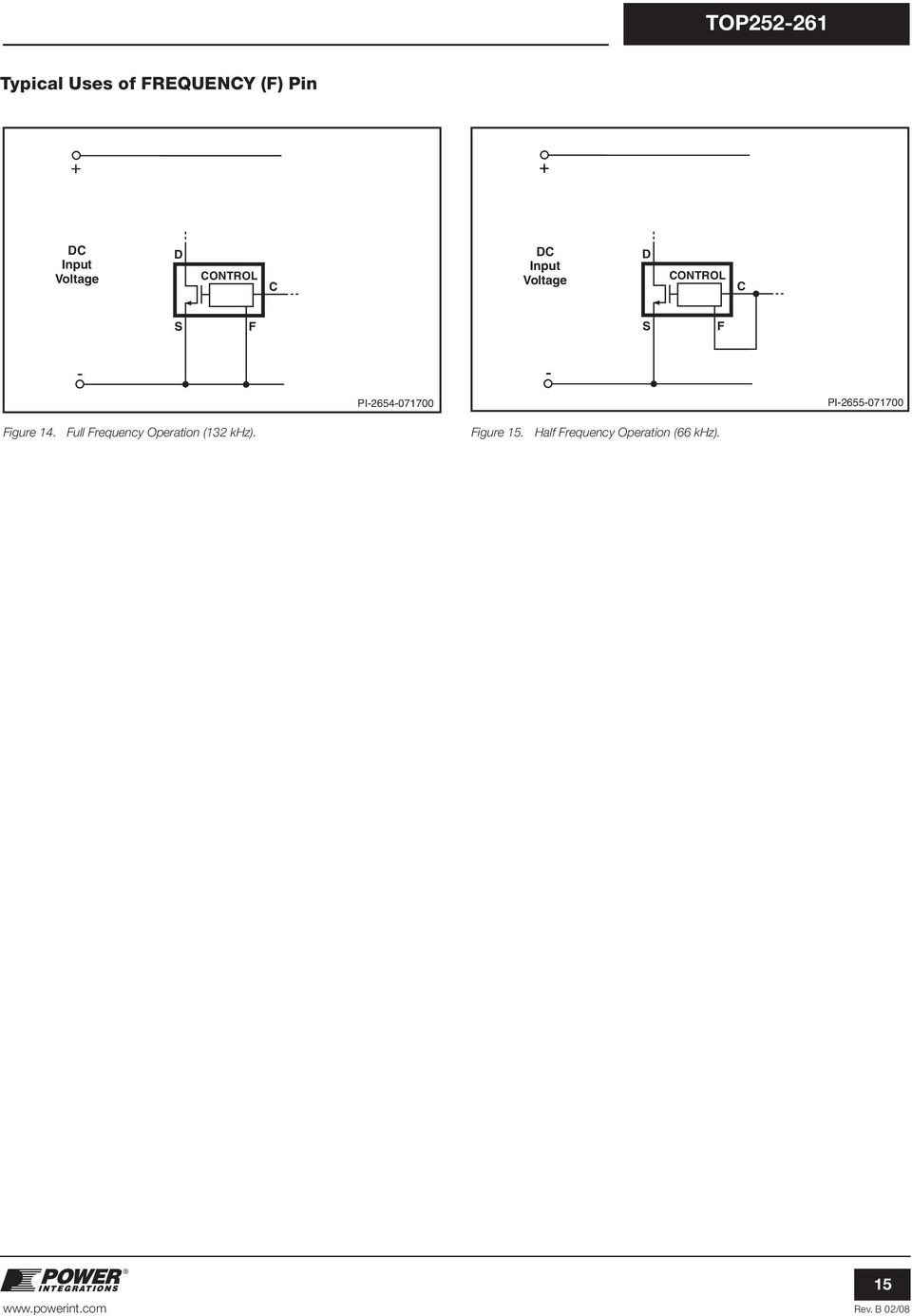 Top Topswitch Hx Family Pdf Regulated Power Supply Circuit Diagram Composed Of Ca723c Figure 14