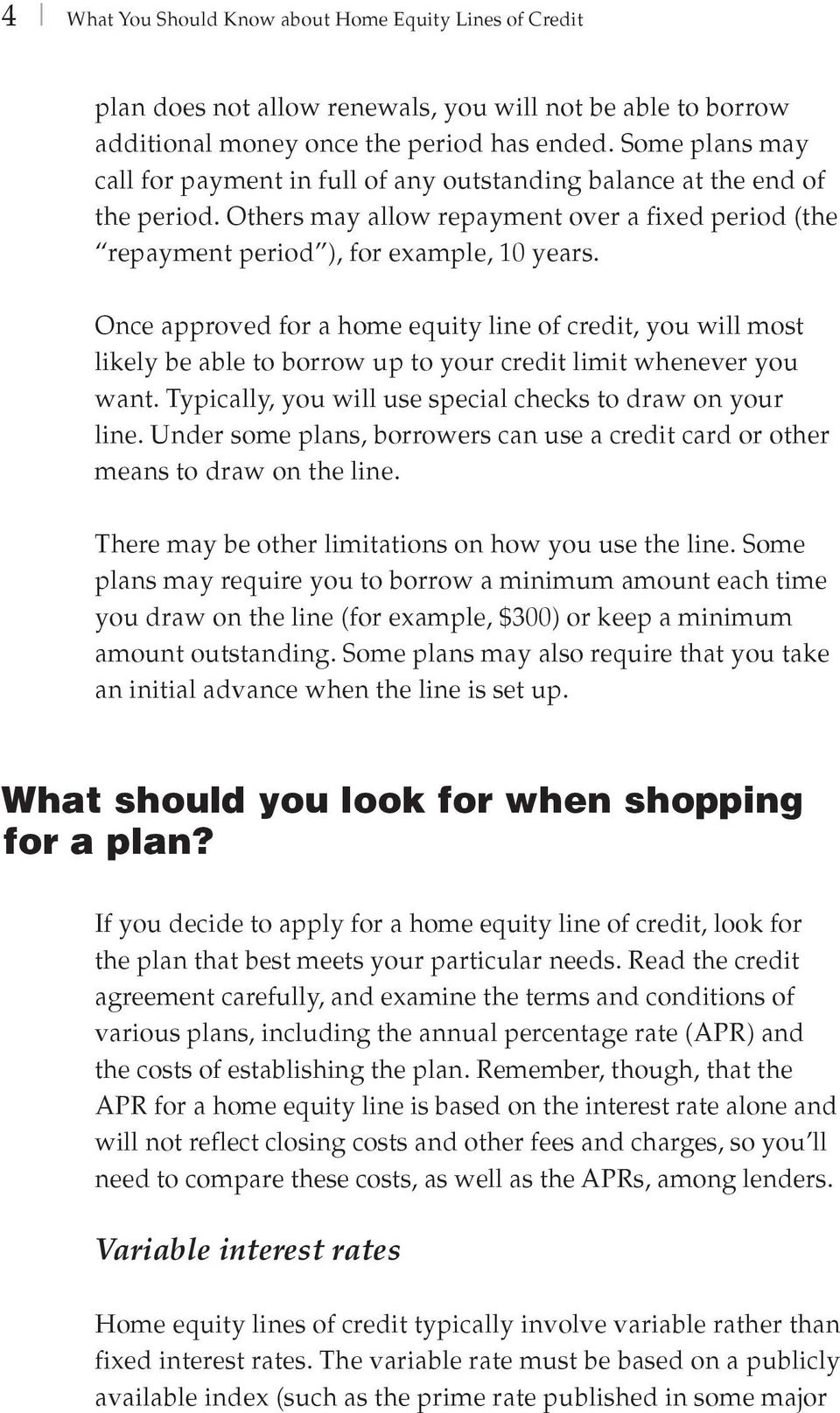 home equity lines of credit - pdf