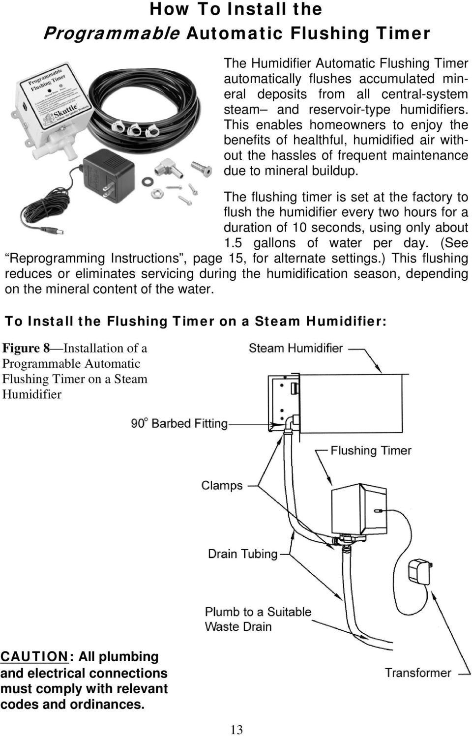 Installation Instructions* for Model 60-Series High-Capacity Steam ...