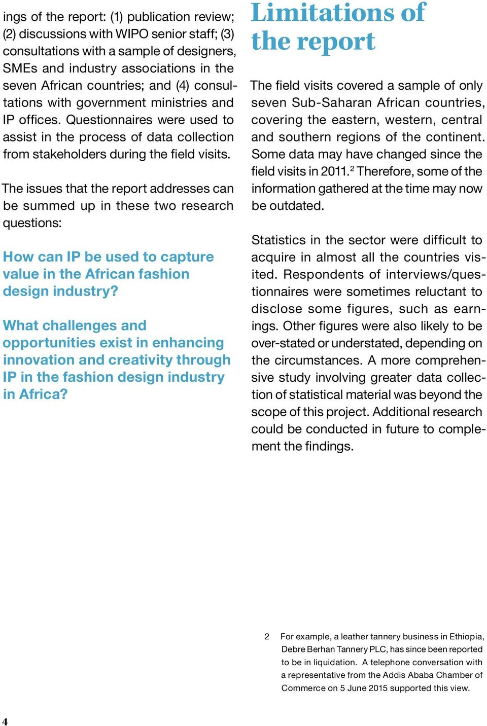 The African Fashion Design Industry Capturing Value Through Intellectual Property Executive Summary Pdf Free Download