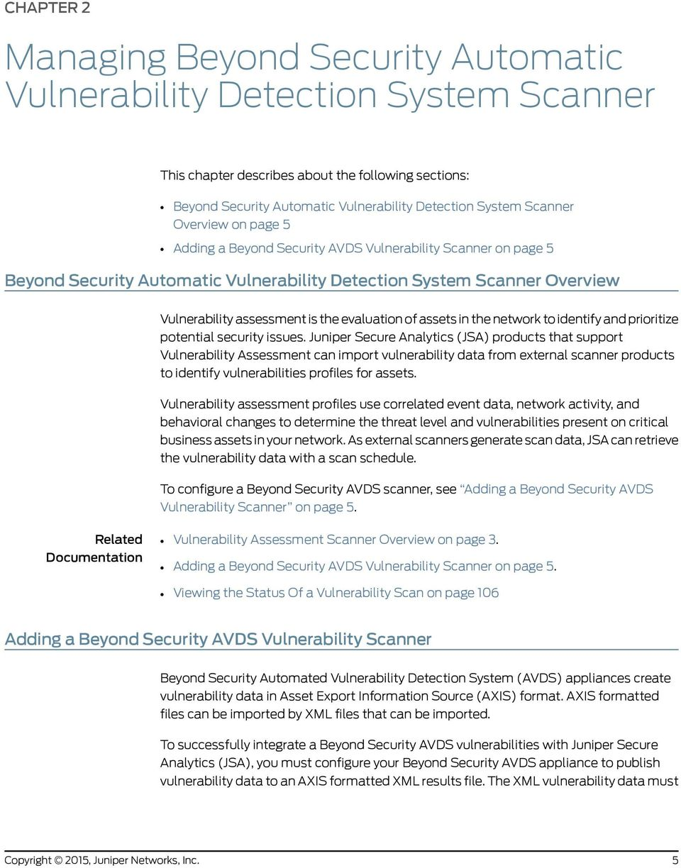 Juniper Secure Analytics - PDF