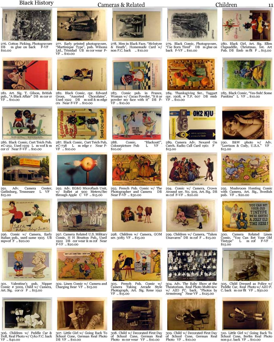 POSTCARDS & PAPER COLLECTIBLES Cherryland Auctions  Mail