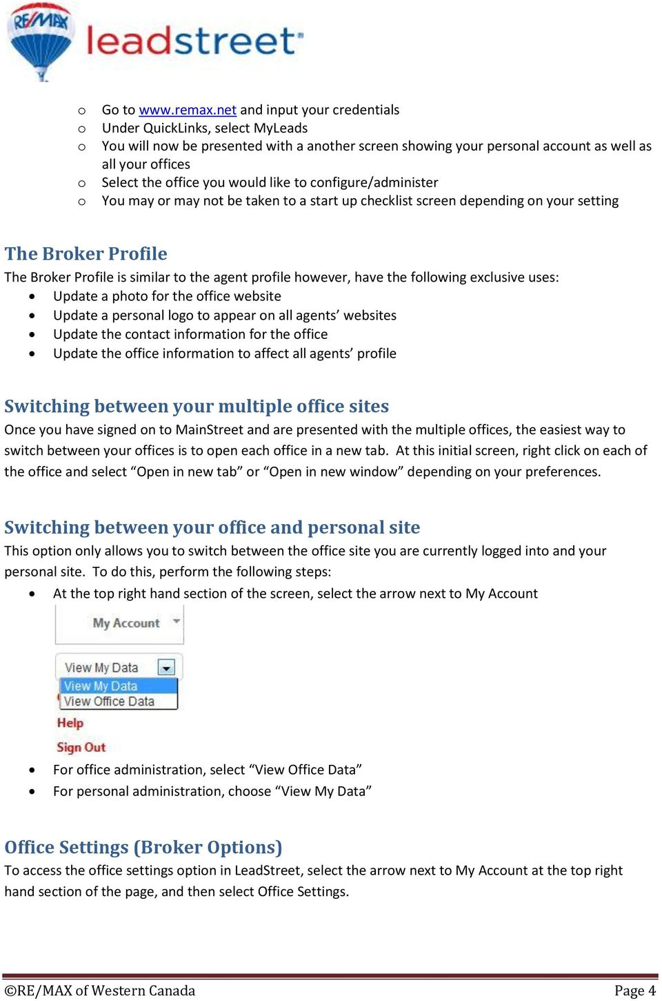 LeadStreet Broker Guide - PDF