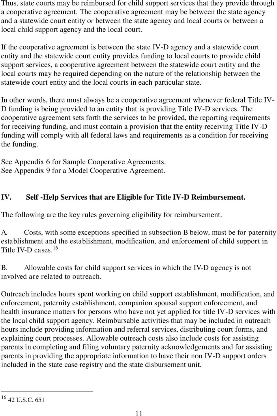Resource Guide Use Of Title IV D Child Support Program