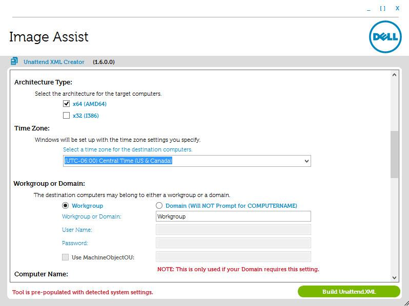 Dell ImageAssist User's Guide  How to create a Windows image