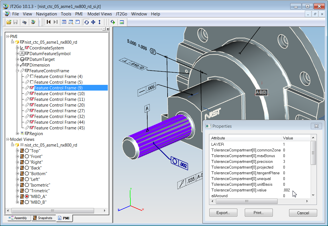 Measuring the  MBD Capabilities of CAD Systems & Translators
