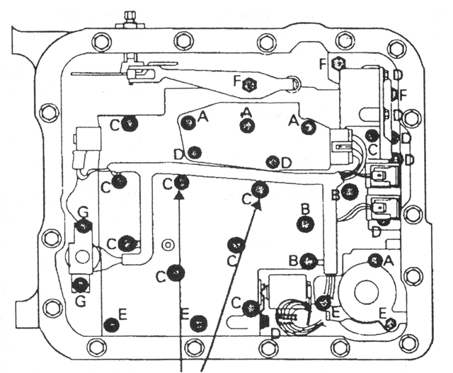 Holden Automatic Transmission Troubleshooter Reference Manual Pdfrhdocplayer: 4l60e Valve Body Bolt Location At Gmaili.net