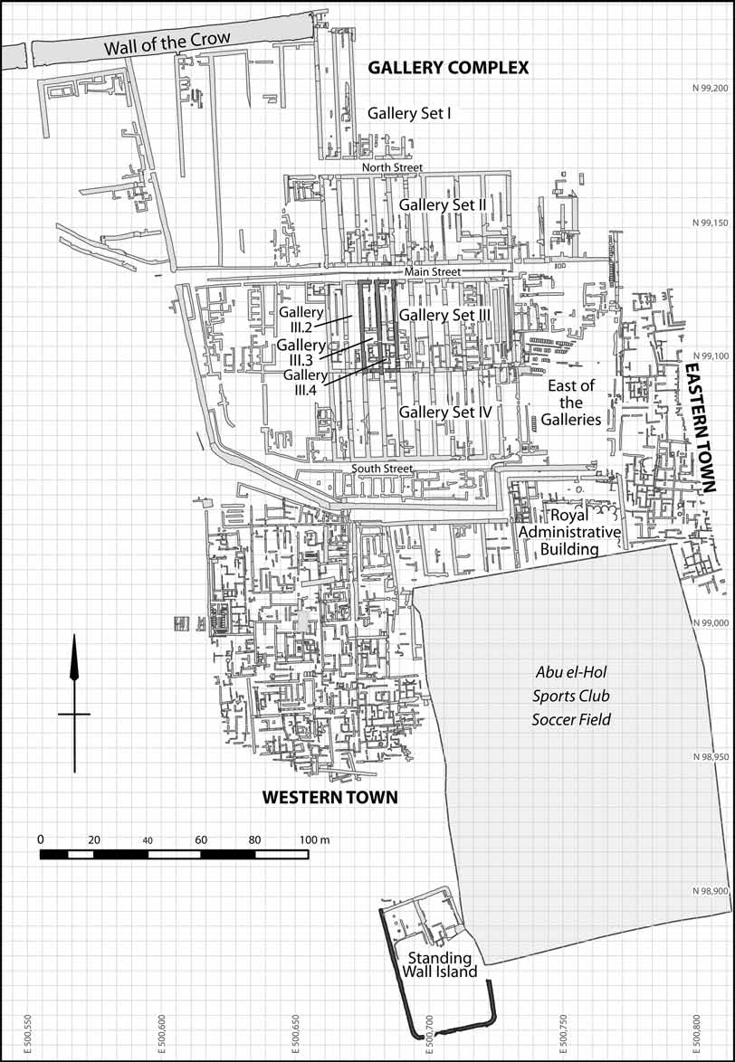 The Oriental Institute Annual Report Pdf Oliver 1850 Wiring Diagram Free Download Schematic Giza Plateau Mapping Project Figure 2