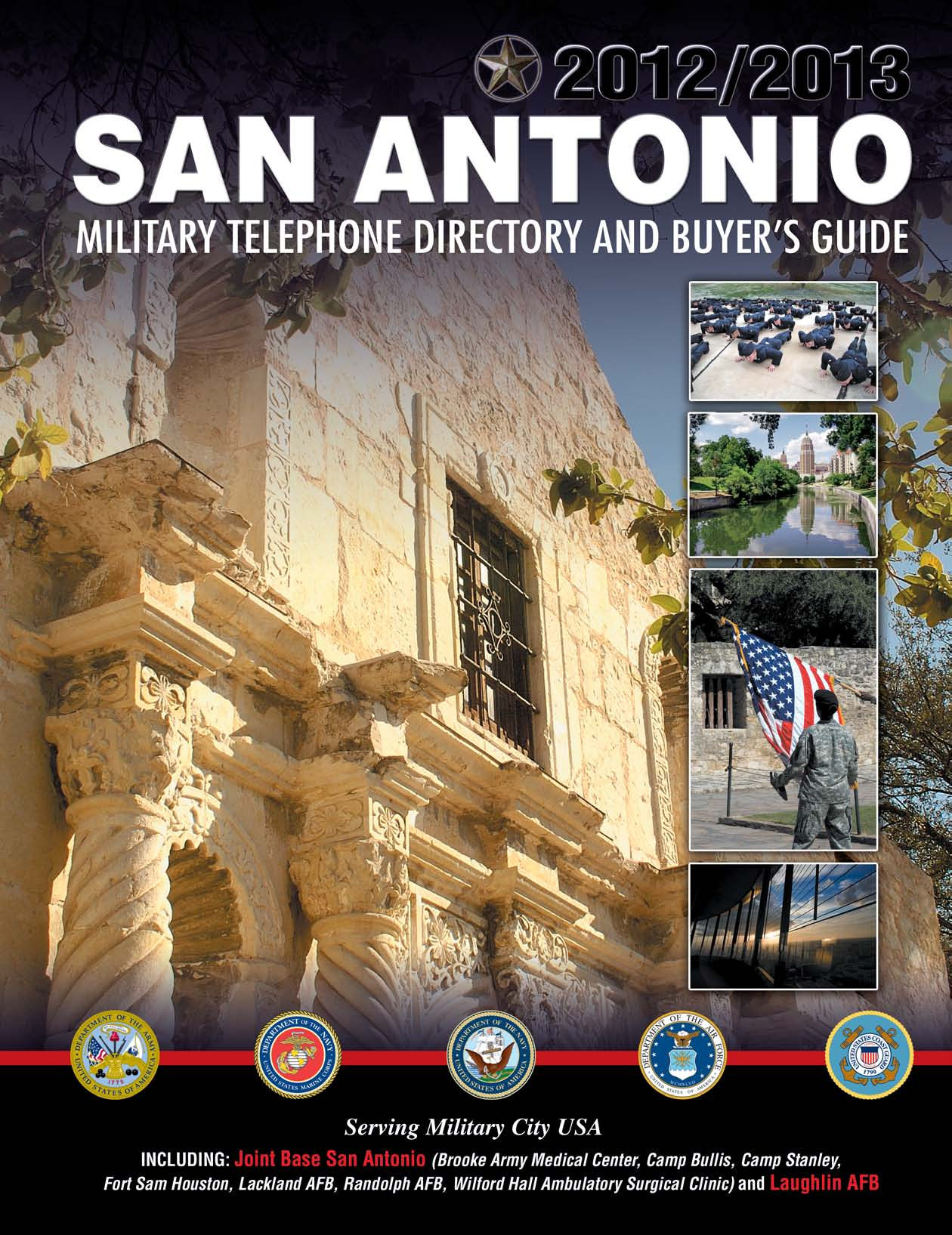 San Antonio Area  2012/2013 Military Telephone Directory and Buyer s