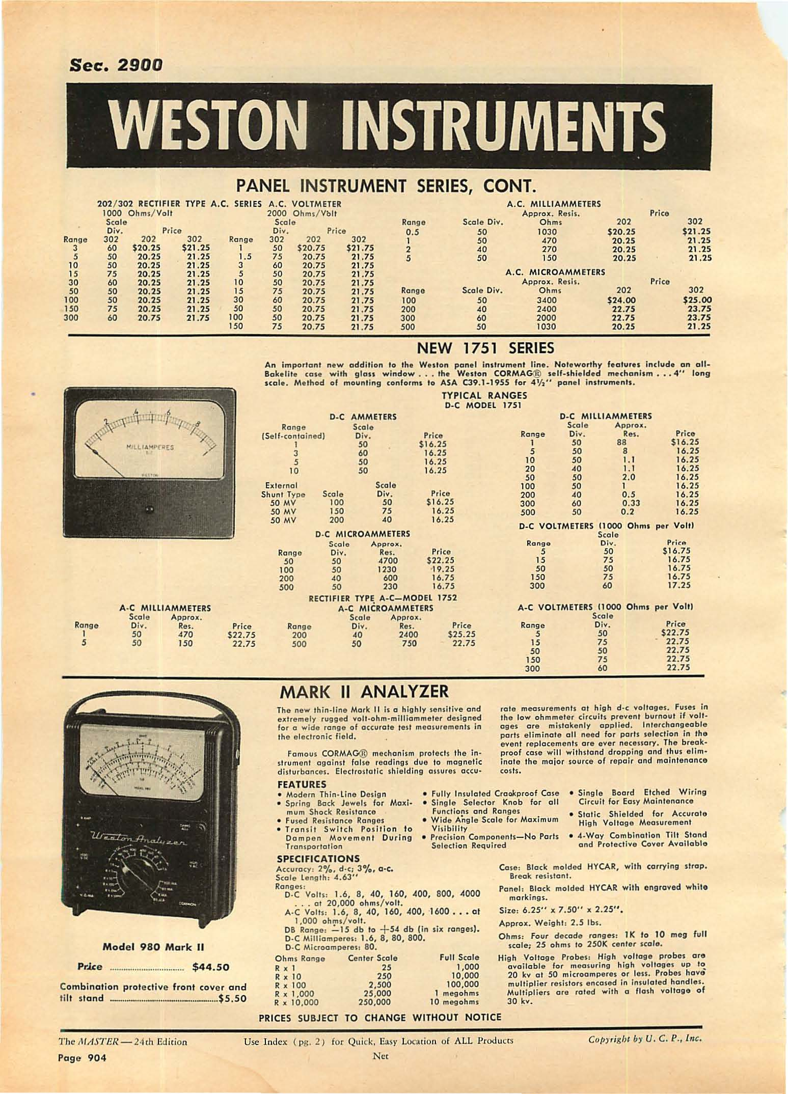 The Newly Expanded Crown Series Distinguished By Handsome Weston Ct Wiring Diagram Sec 2900 202 302 Rectif Ier Type Ac 00 Ohm S