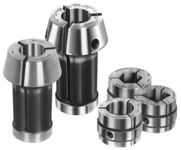"HARDINGE S-20 1-5//8/"" SERRATED COLLET PAD SET WITH B 20 FEED FINGERS  MAZAK S20"