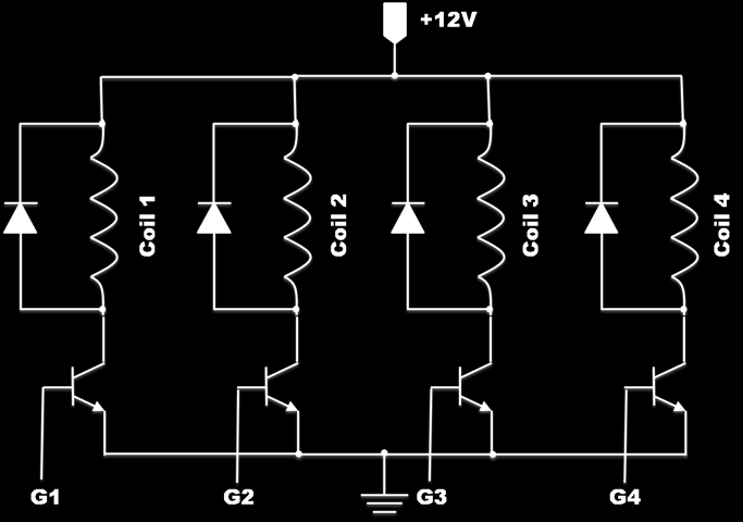 8 I/O Device Interface to 8086 Microprocessor Stepping Motor