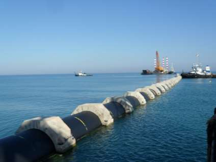 Long Length Large Diameter (LLLD) PE Pipes for Marine