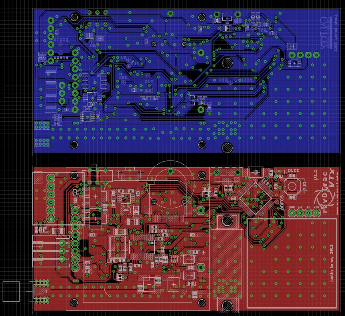 All In One Aprs Transmitter Pdf 15v Tracking C Pcb Layout List Of Changes Version 1