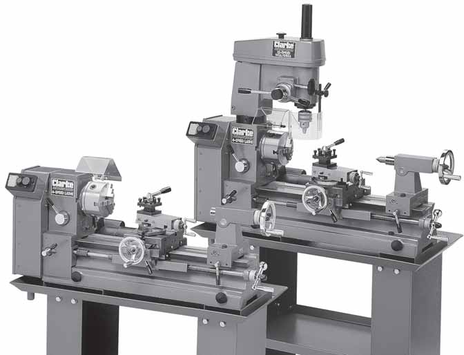 METAL LATHE - CL430/CL500M  incl  MILL DRILL - CL500M PARTS