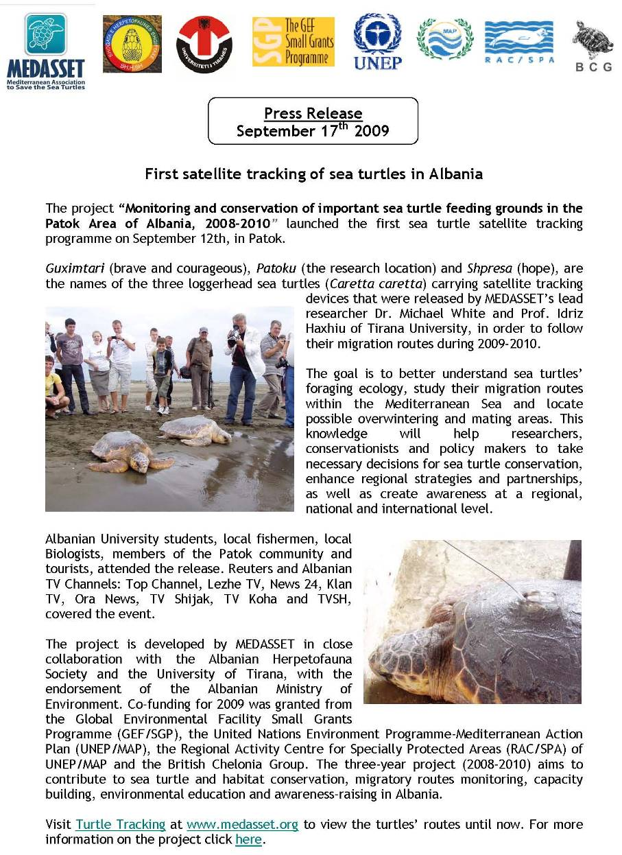 Monitoring and Conservation of Important Sea Turtle Feeding Grounds