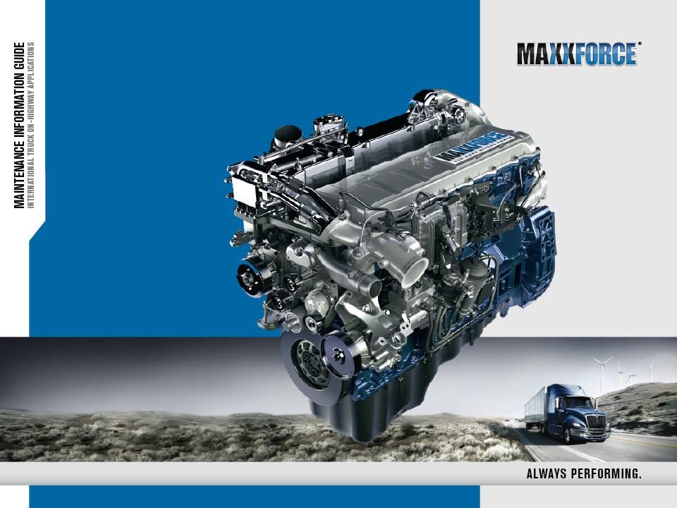 MAXXFORCE 11L & 13L EMISSION-COMPLIANT ENGINES - PDF