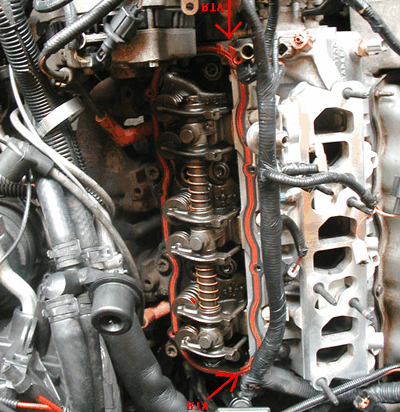 Ford 4 0L (OHV) Upper Intake Manifold Assembly Removal