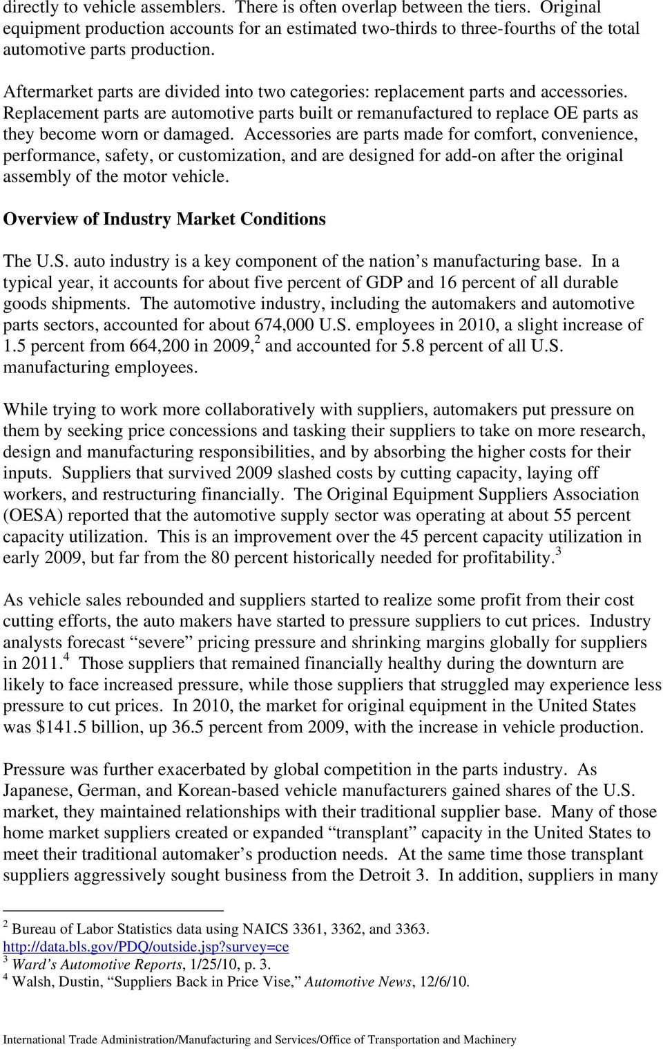 On the Road: U S  Automotive Parts Industry Annual Assessment - PDF