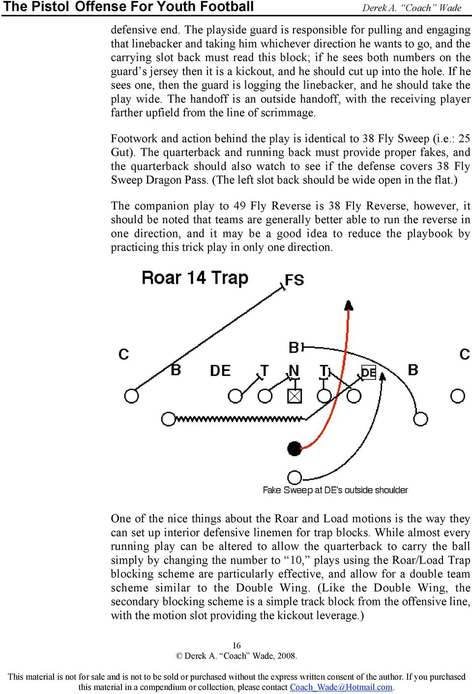 The Pistol Offense For Youth Football Pdf Free Download