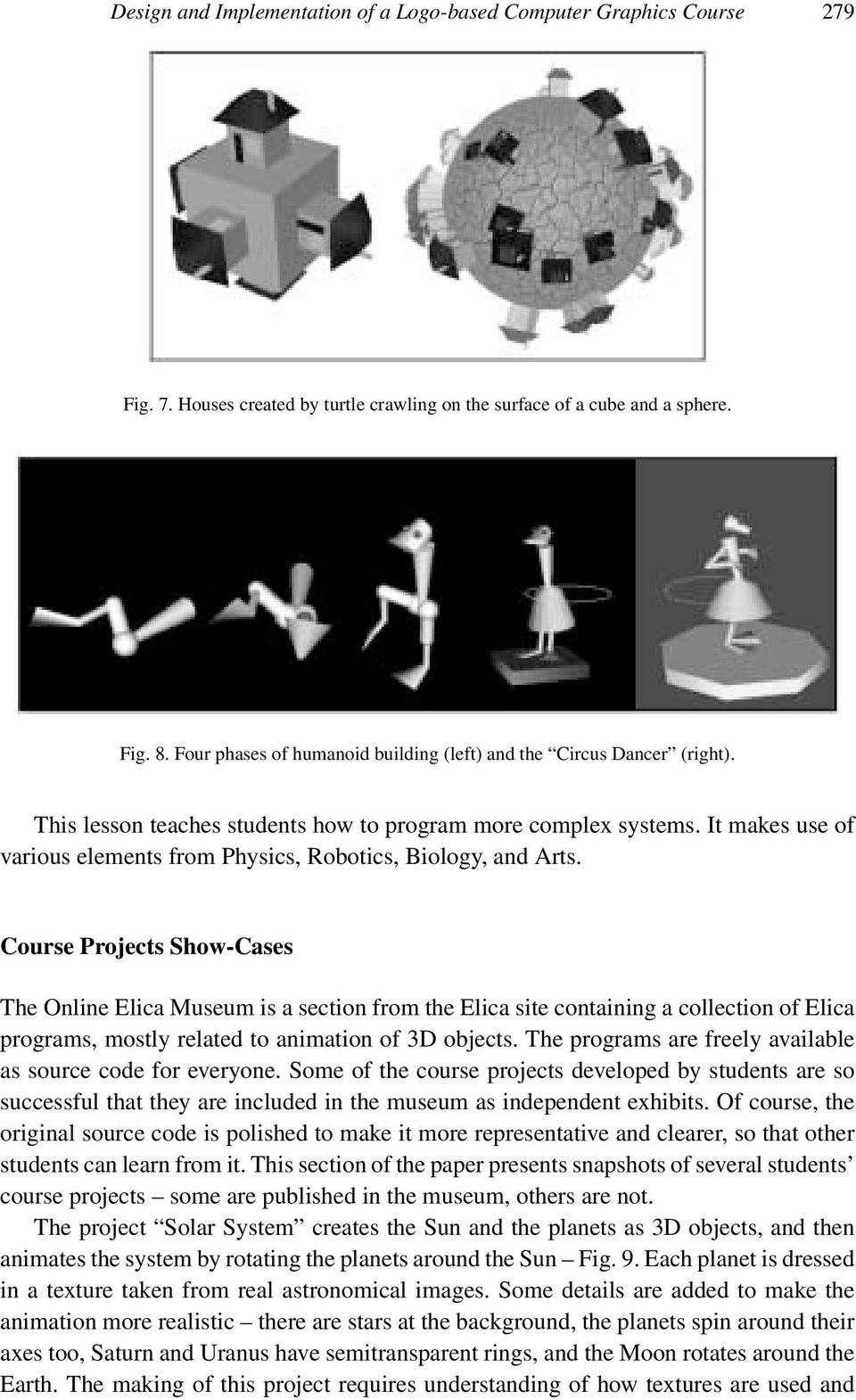 Design and Implementation of a Logo-based Computer Graphics Course - PDF