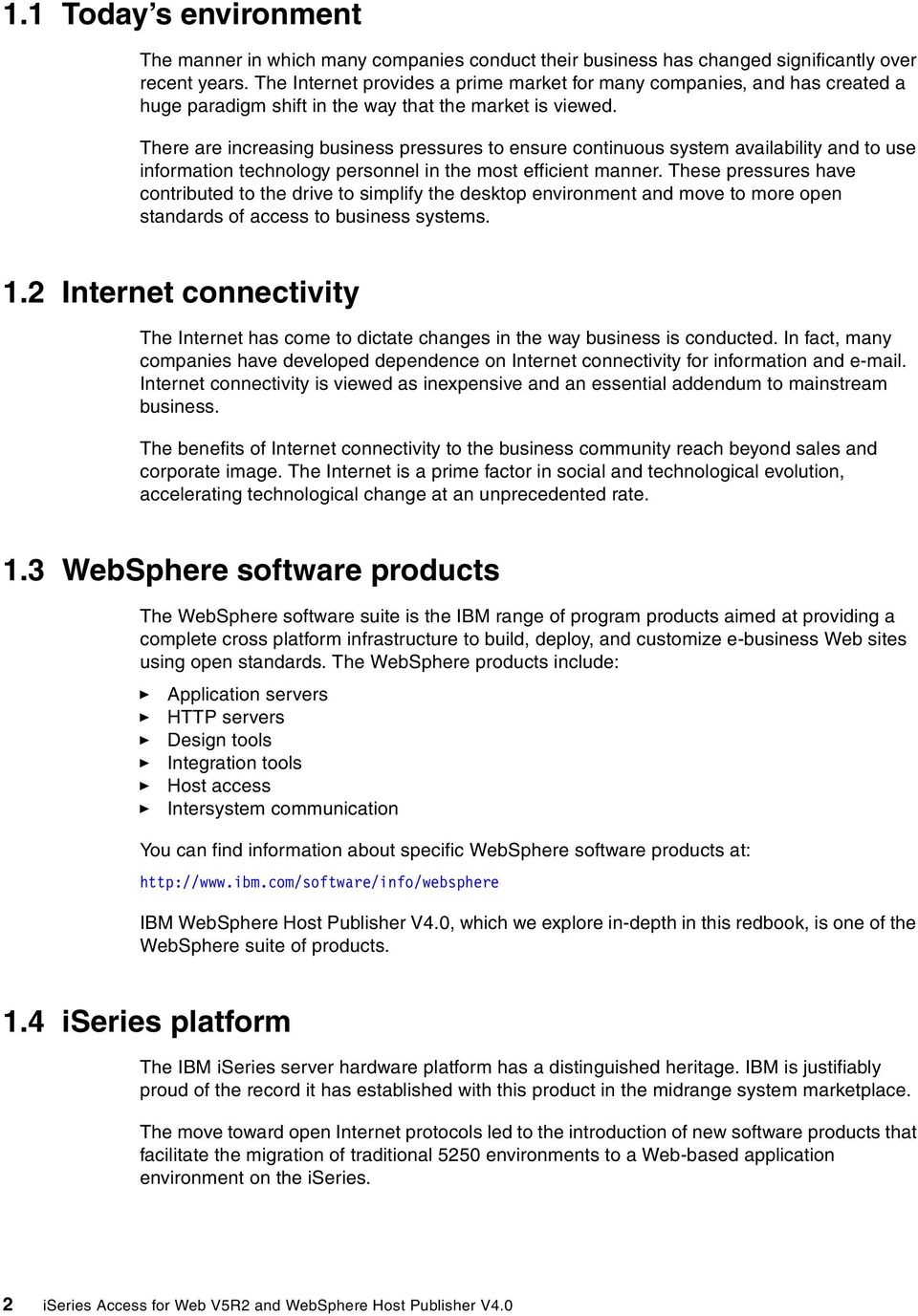 iseries Access for Web V5R2 and WebSphere Host Publisher V4 0 - PDF