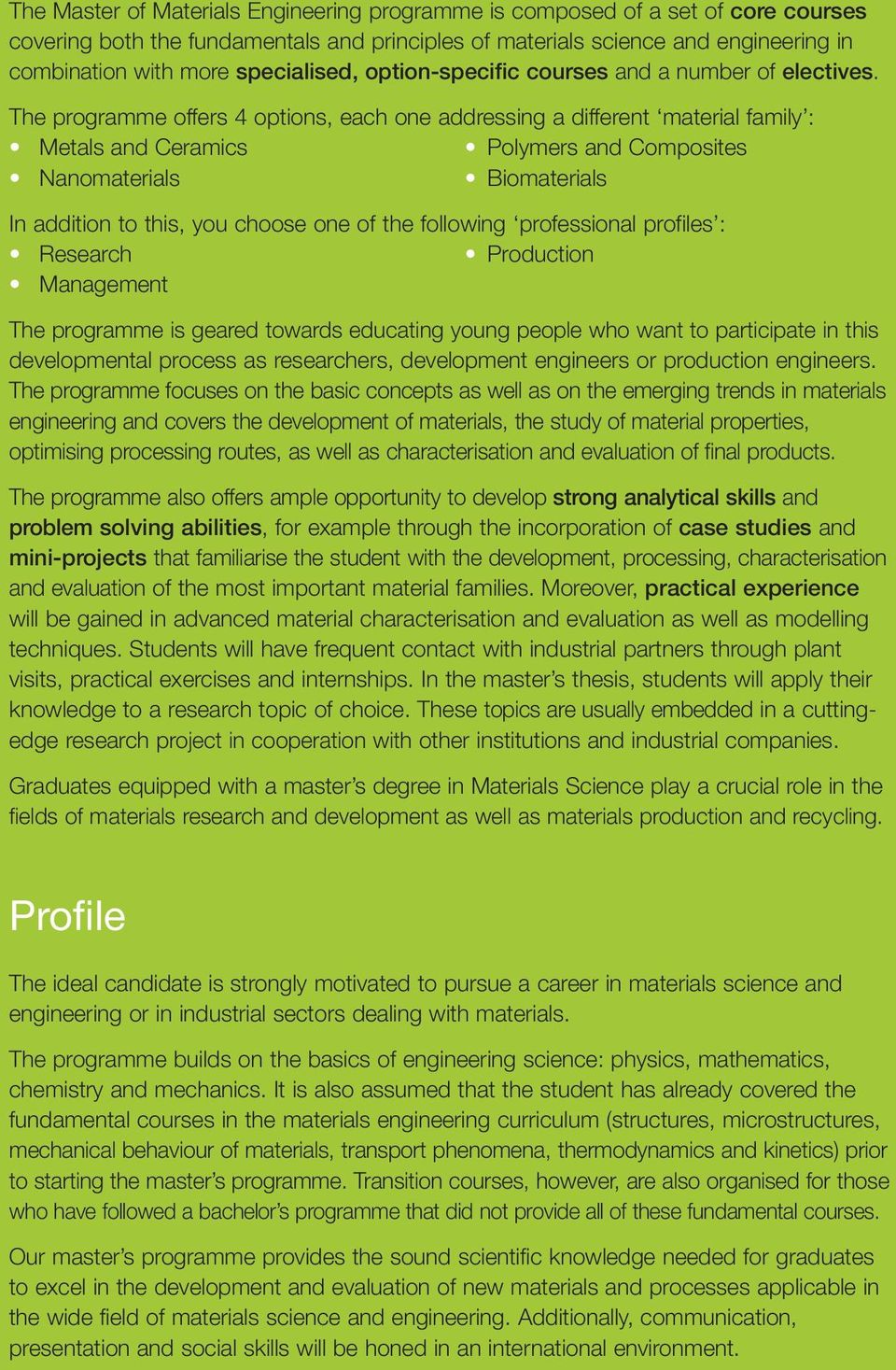 Master of Science in Materials Engineering - PDF