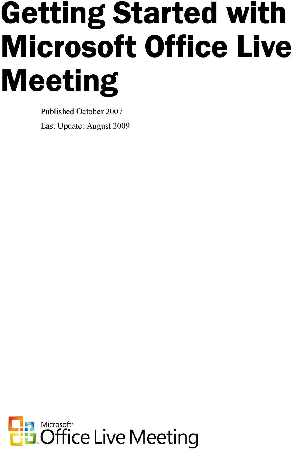 Meeting Published