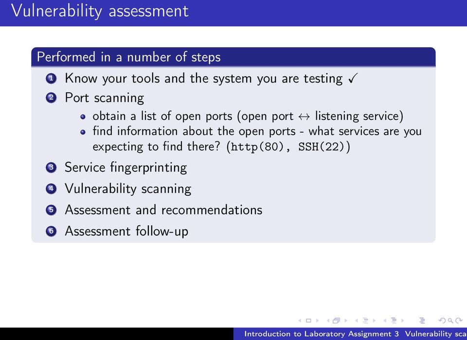 Introduction to Laboratory Assignment 3 Vulnerability