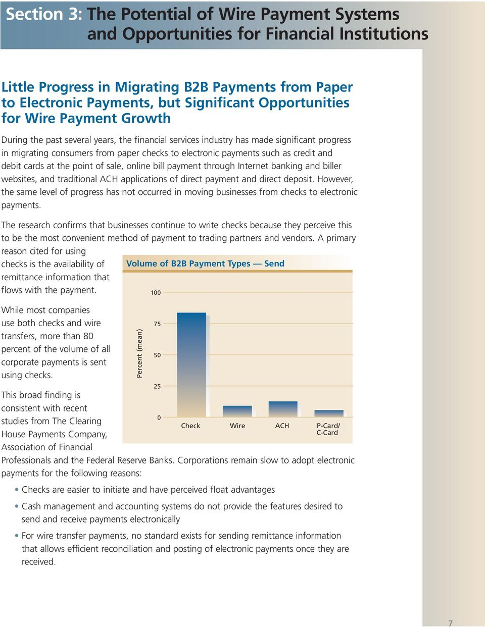 Business To Wire Transfer Payments Customer Preferences Wiring Funds Vs Ach As Credit And Debit Cards At The Point Of Sale Online Bill Payment Through Internet