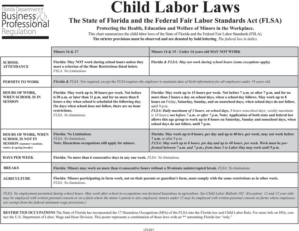 laws about dating minors in florida