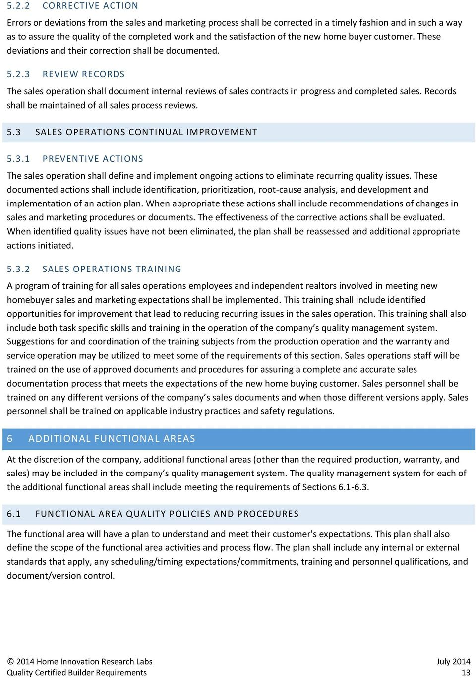 QUALITY MANAGEMENT SYSTEM REQUIREMENTS - PDF