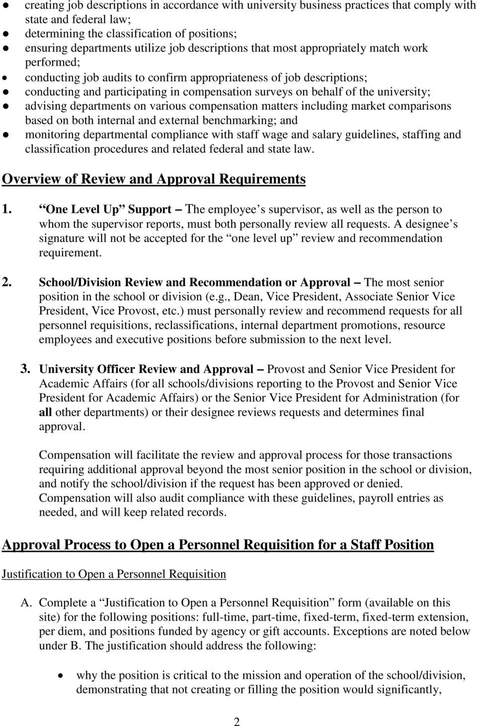 Staffing and Classification Procedures - PDF