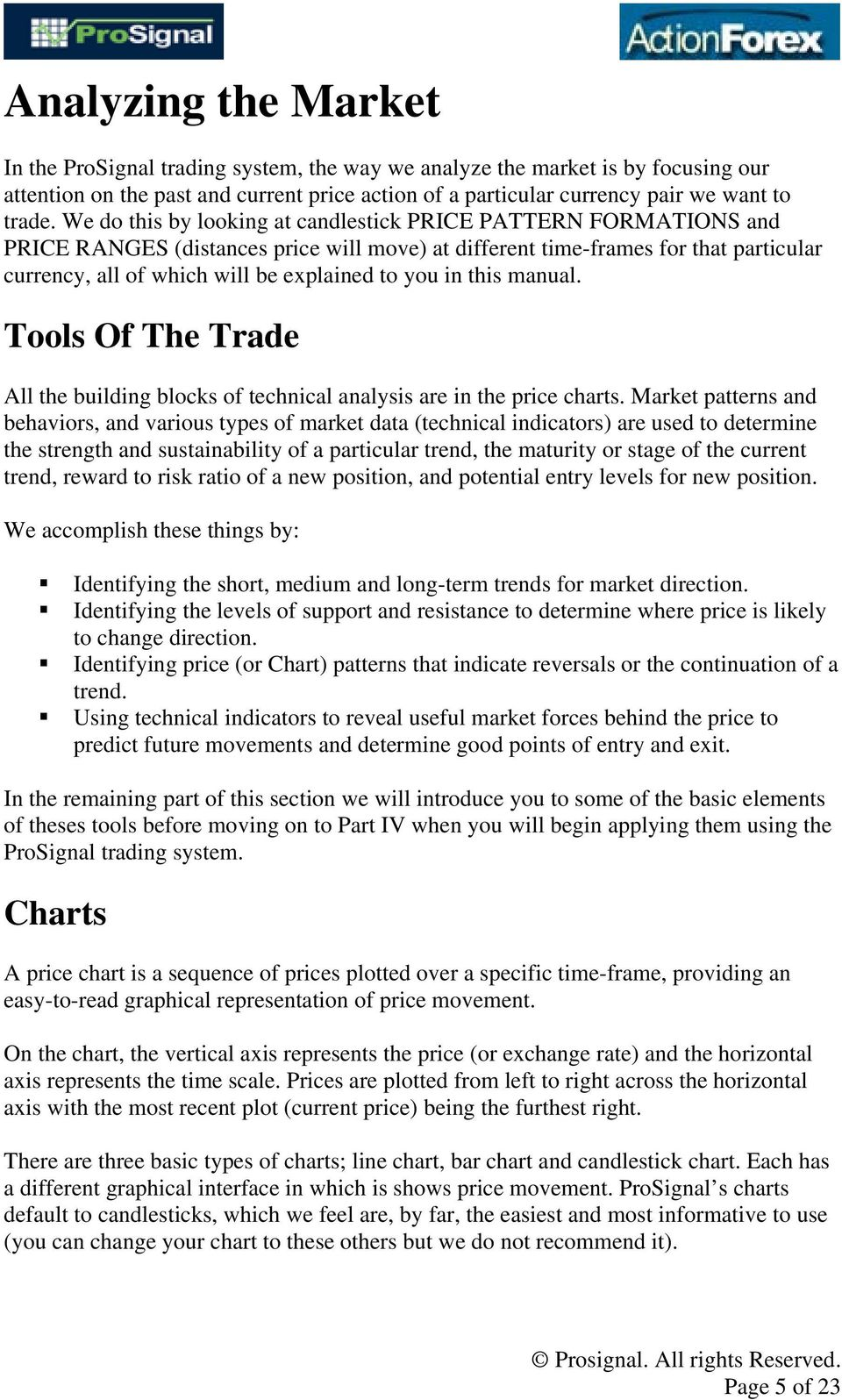 A Primer On Technical Analysis  Written by  Available at - PDF
